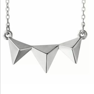 Jewelry - Sterling Silver Pyramid Necklace